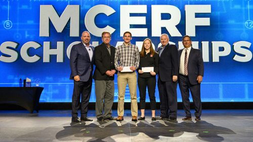 MCERF Presented Scholarships at MCAA19