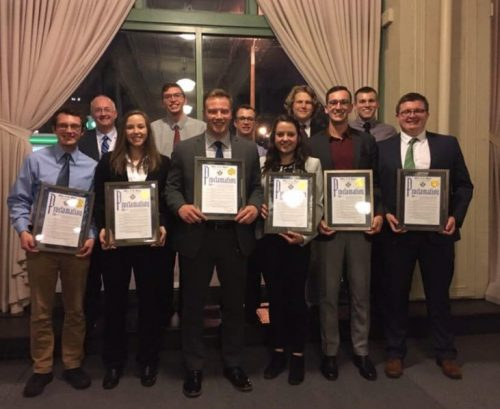 MSOE MCAA Student Chapter Honored by the Mayor of Milwaukee