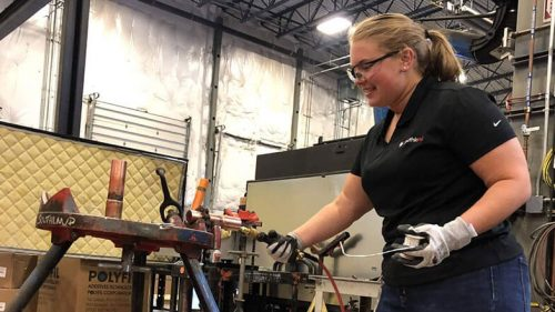 Molly Sizemore Receives Ferguson-Women in the Mechanical Industry Scholarship