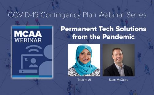 Webinar #24: Permanent Tech Solutions from the Pandemic – Tauhira Ali & Sean McGuire